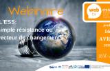 16 avril 2020 - Webinar ESS - Volet 1