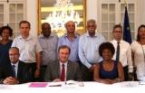 Signature de la charte des engagements r...