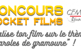 Concours Pocket Films ouvert aux jeunes – CEMEA Réunion