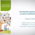 Etude du CESE sur la commande publique responsable (mars 2018)