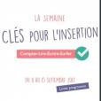 SEMAINE THEMATIQUE CLE POUR L'INSERTION 2017