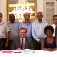 Signature de la charte des engagements réciproques entre l'Etat, les collectivités territoriales et le mouvement associatif de La Réunion
