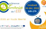 Conférence territoriale de l'ESS - Vendredi 6 décembre 2019